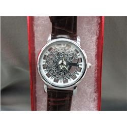 New 2-Sided Skeleton Watch