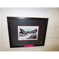 "Richard Shorty framed print ""Cycle of Life"""