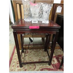 Rosewood Accent Table