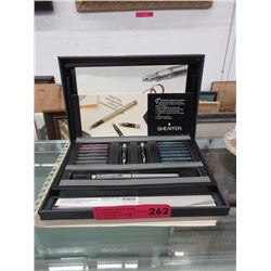 Sheaffer calligraphy set with instruction book