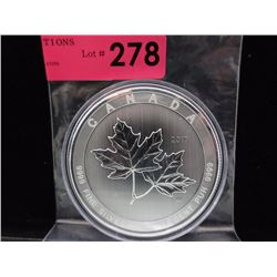 10 Oz. CDA .9999 Silver 2017 Maple Leaf Coin