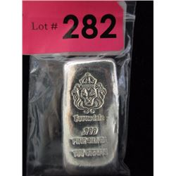 Scottsdale Mint 100 Gram .999 Silver Loaf Bar