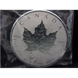 2016 CDA Maple Leaf Coin w/ Monkey Privy