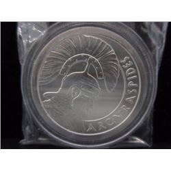 1 Oz. Silver Shield .999 Silver Art Round