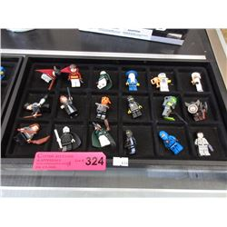 18 Assorted Lego figurines