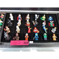 24 Assorted Lego figurines