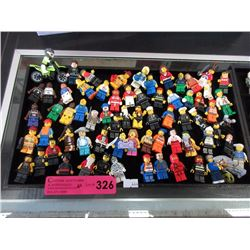 60 Assorted Lego figurines