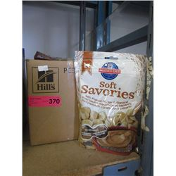 Case of Hill's Soft Savories dog treats
