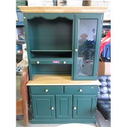 Pine sideboard  with hutch