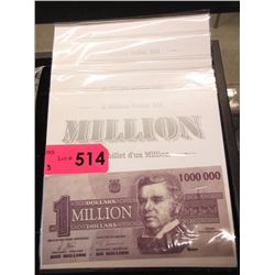 5 Million Dollar US Novelty Bills