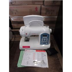 "Singer ""Curvy"" portable electric sewing machine"