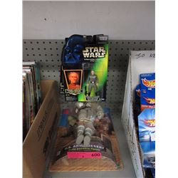 2 G.I. Joe & 6 Star Wars figurines