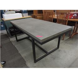 New LH workshop style table