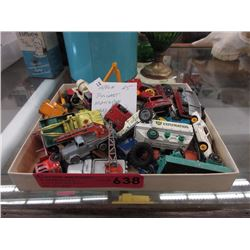 Approximately 25 vintage die-cast Matchbox cars
