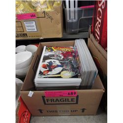 75+ Assorted comics