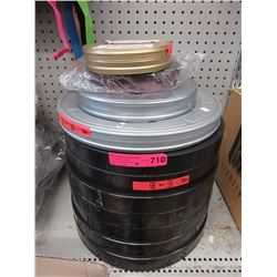 11 Large film canisters & contents