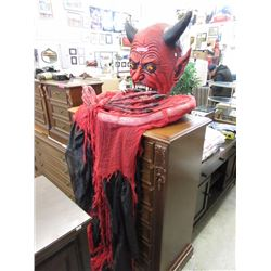 Halloween devil decoration