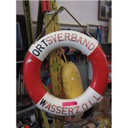 Nautical lifesaver & buoys