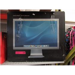 "20"" Wide screen Apple Cinema monitor"