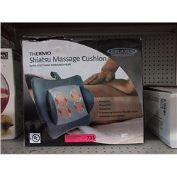 Thermo Shiatsu massage cushion