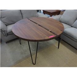 New Round LH Imports Organic Collection Bow Tie Table