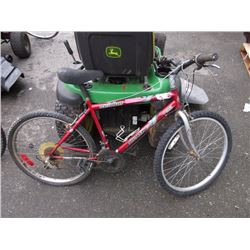 "18 Speed ""Arashi"" mountain bike"
