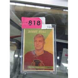 1958-59 Topps #66 Bobby Hull Rookie Card