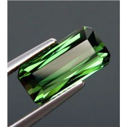Natural Green Tourmaline 3.74 ct - VVS