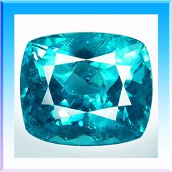 Natural Neon Green Blue Apatite 3.05 Carats - VS
