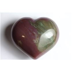 Natural Fancy Jasper Heart 290.11 Carats