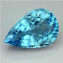 Natural Swiss Blue Topaz 41.40 carats - VVS