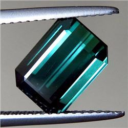 Natural Blue Green Tourmaline 2.82 ct - VVS