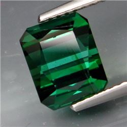 Natural Top Bluish Green Tourmaline 3.26 cts