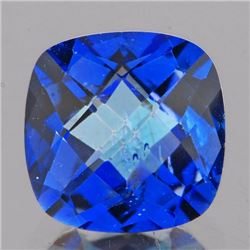 Natural Cushion Blue Mystic Topaz 2.70 cts - Flawless