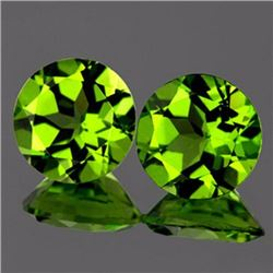 Natural Peridot Pair 4.84 cts - VVS