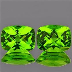 Natural Peridot Pair 4.70 cts - VVS