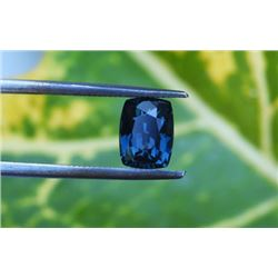 Natural Cushion Blue Spinel 2.74 Cts - VVS