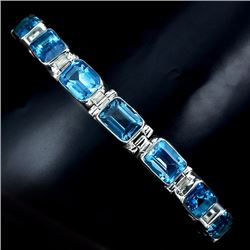 Natural Swiss Topaz Bracelet
