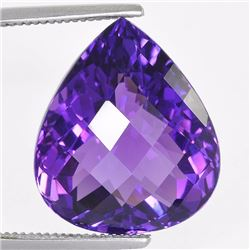 Natural Amethyst 21.25  Carats - No Treatment