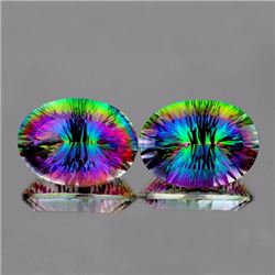Natural Multi Color Mystic Topaz 65.75 cts - If