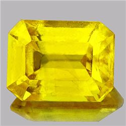 Natural Canary Yellow Sapphire 1.88 Carats - VVS