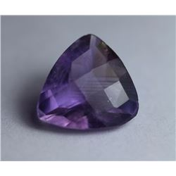 Natural Trillion Cut Amethyst 5.81 Cts