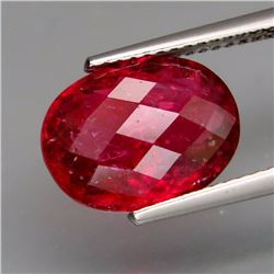 Natural Red Pink Tourmaline 4.01 Carats