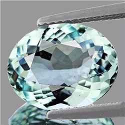 Natural Light Color Aquamarine 1.30 Carats - VVS