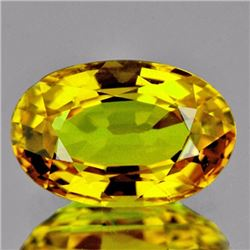 Natural Canary Yellow Sapphire 1.07 Cts - VVS