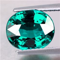 Natural Emerald Green Blue Apatite 8 x 6  mm - VVS