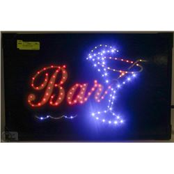 BAR LED LIGHT UP SIGN