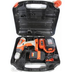 BLACK AND DECKER SPITFIRE 14.4V  DRILL,