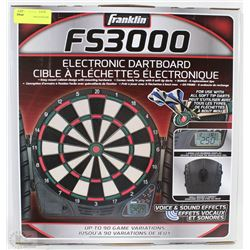 FRANKLIN FS3000 ELECTRONIC DARTBOARD