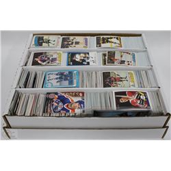 LOT OF OVER 3000+ ASSORTED HOCKEY CARDS INCL 70'S